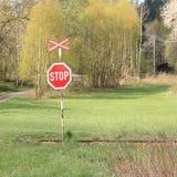 Stoppa tecknet Fotografering för Bildbyråer