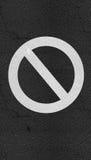 Stoppa textur för vägen för teckenasfalthuvudvägen Royaltyfria Bilder