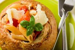 stoppad brödpasta Fotografering för Bildbyråer