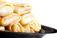 stoppade pannkakor Royaltyfri Bild