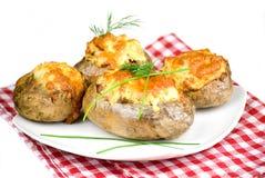 stoppade potatisar Royaltyfri Fotografi