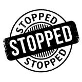 Stopped rubber stamp. Grunge design with dust scratches. Effects can be easily removed for a clean, crisp look. Color is easily changed Stock Image