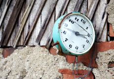 Stopped time Royalty Free Stock Photos
