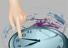 Stopped time Stock Images