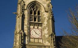 Stoppen Sie auf dem alten mittelalterlichen Kirche Heilig-Leu ab Lizenzfreies Stockbild