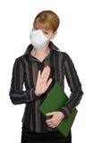 Stoppen Sie das Virus! Stockfoto