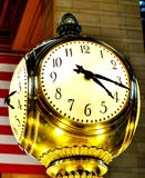 Stoppen Sie an Grand Central -U-Bahn/an der Bahnstation, New York, NY ab Stockfotos