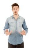 Stoppen Sie Hände Lizenzfreie Stockfotografie