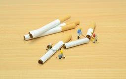 Stoppen Sie, Konzept zu rauchen stockfotos