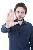 Stoppen Sie Mann Stockfotos