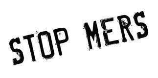 Stoppen Sie Mers-Stempel Stockbilder
