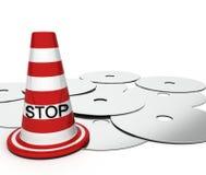 Stoppen Sie Piraterie Lizenzfreie Stockfotografie