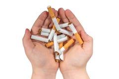 Stoppen Sie Rauch stockfotos