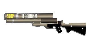 Stoppen Sie Terrorismus Lizenzfreies Stockbild