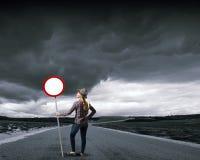 Stoppen Sie Verschmutzung! Lizenzfreie Stockbilder