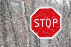 Stoppen Sie Zeichen Stockfoto