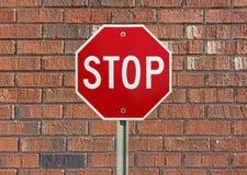 Stoppen Sie Zeichen Stockfotos