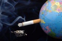 Stoppen Sie zu rauchen stockbild