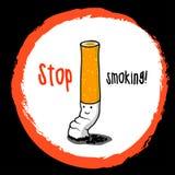 Stoppen Sie zu rauchen! Lizenzfreie Stockbilder