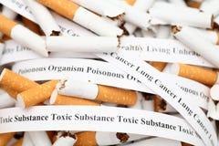 Stoppen Sie zu rauchen! stockfotos