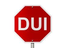Stoppen Sie zu trinken und anzutreiben Lizenzfreie Stockfotos