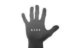 Stoppet BISTÅR begreppet, isolerade stoppHJÄLPMEDEL, den skriftliga SIDAEN förestående Arkivbild