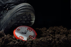 Stopping time Royalty Free Stock Image