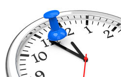 Stopping the time Royalty Free Stock Photography