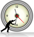Stopping Time Royalty Free Stock Images