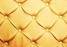 Stoppningbakgrund för äktt läder Royaltyfri Foto