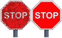 Stoppschild Stockfotografie