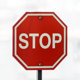 Stoppschild Lizenzfreie Stockfotografie