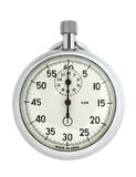 Stopwatch. Clipped, white clean background Royalty Free Stock Photos
