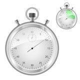 Stopwatch. Isolated on white background stock illustration
