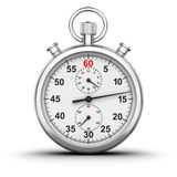 Stopwatch. 3D rendered analog stop watch Stock Photos