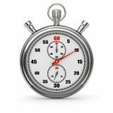 Stopwatch. 3d Stock Photo