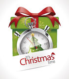 Stopwatch - Christmas time Royalty Free Stock Images
