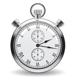 Stopwatch. Clock and time concept royalty free illustration
