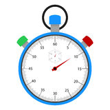 Stopwatch with dial Royalty Free Stock Photos