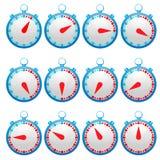stopwatch Formato supplementare ENV 8 illustrazione vettoriale