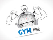 Stopwatch - GYM czas Fotografia Stock
