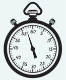 Stopwatch icon royalty free illustration