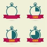 Stopwatch ikona Zdjęcie Stock