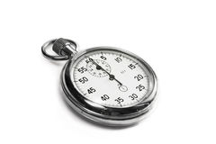 Stopwatch isolated Stock Images