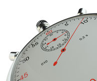 stopwatch Isolato su bianco royalty illustrazione gratis