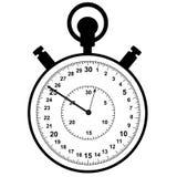 stopwatch Meccanismo per la misura accurata degli intervalli di tempo royalty illustrazione gratis