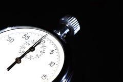 Stopwatch On Dark Royalty Free Stock Photo