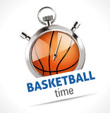 Stopwatch - Sport Basketball Royalty Free Stock Photos