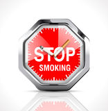 Stopwatch - Time to quit smoking 2 Royalty Free Stock Photos