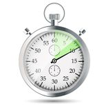Stopwatch vector illustraion Stock Image